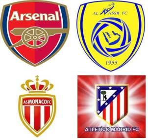من سيفوز بالدوري: النصر، الأرسنال، أتليتيكو مدريد أم موناكو؟