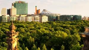 الجوانب الخضراء من العاصمة الألمانية برلين
