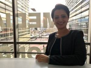 الإعلامية والمذيعة إيمان الحمود
